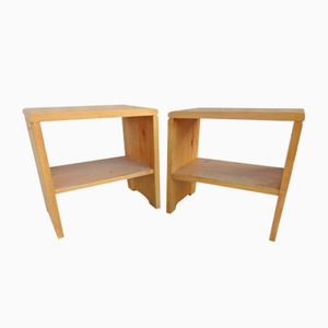Bedside Tables by Charlotte Perriand, 1970s, Set of 2