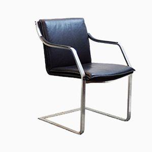 Freischwinger Stühle von Rudolf B. Glatzel für Knoll Inc, 1970er