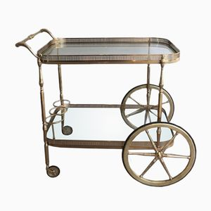 Large Brass Trolley, 1940s
