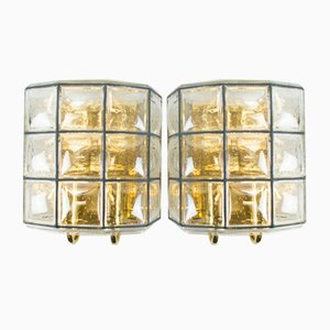 Wall Lamps from Limburg, 1960s, Set of 2