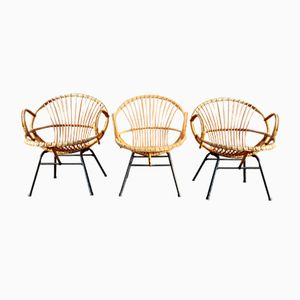 Vintage Armchairs from Rohe Noordwolde, 1960s, Set of 3