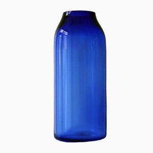 Raw Royal Blue XL Glass Vase by Milena Kling