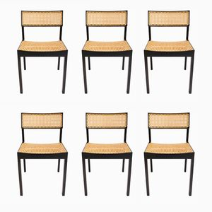 Vintage Model 3100 Chairs by Willy Guhl for Dietker, Set of 6