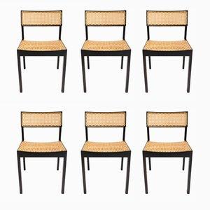 Vintage Modell 3100 Stühle von Willy Guhl für Dietker, 6er Set
