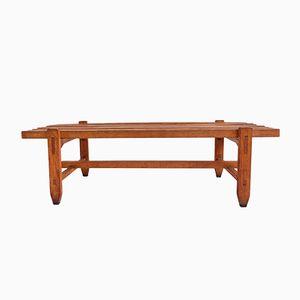 Italienische Vintage Holzbank