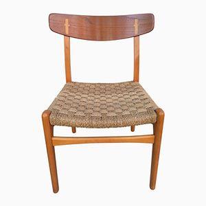 CH 23 Stühle von Hans Wegner für Carl Hansen, 1950er, 4er Set
