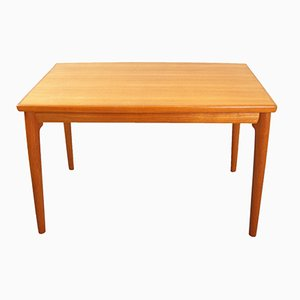 Vintage Extendable Teak Veneer Dining Table by Grete Jalk for Glostrup