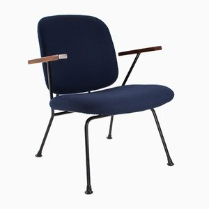 Mid-Century Lounge Chair by W.H. Gispen for Kembo