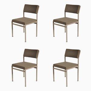 Moderne Esszimmerstühle von Cees Braakman für Pastoe, 1960er, 4er Set