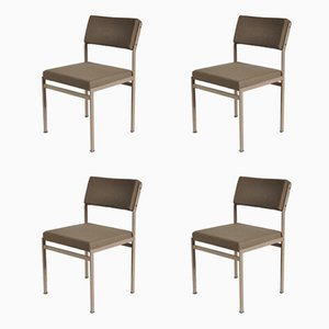 Modernist Dining Chairs by Cees Braakman for Pastoe, 1960s, Set of 4