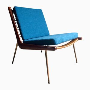 Danish Boomerang Chair by Peter Hvidt & Orla Molgaard Nielsen for France & Son, 1950s