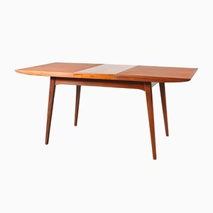 Dutch Extendable Dining Table by Louis van Teeffelen for WéBé, 1950s