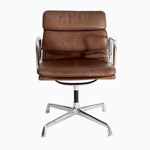 Vintage EA 208 Softpad Conference Chair by Charles & Ray Eames for Herman Miller