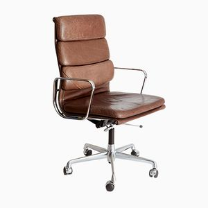 Vintage EA 219 Softpad Office Chair by Charles & Ray Eames for Herman Miller