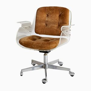 Mid-Century D49 Office Chair by Hans Könecke for Tecta