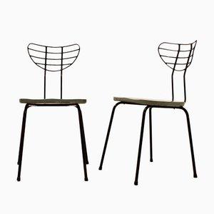 Mid-Century Radar Chairs by Willy Van Der Meeren, 1950s, Set of 2