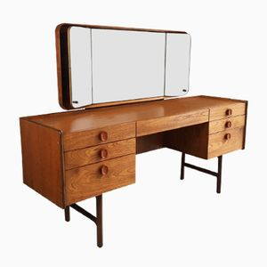 Mid-Century Vanity Table with Mirror from Meredrew