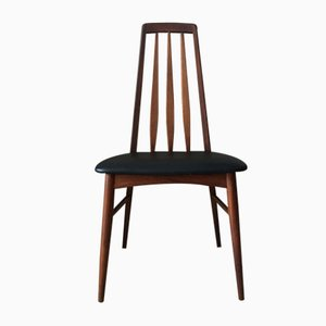 Mid-Century Eva Teak Dining Chair by Niels Koefoed for Koefoeds Hornslet