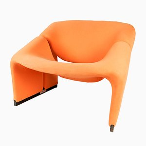 Vintage Groovy Chair F598 by Pierre Paulin for Artifort