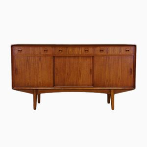 Mid-Century Teak Sideboard by E. W. Bach for Sejling Skabe