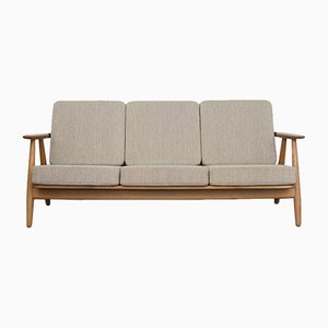 GE-240 Cigar Sofa by Hans J. Wegner for Getama, 1950s