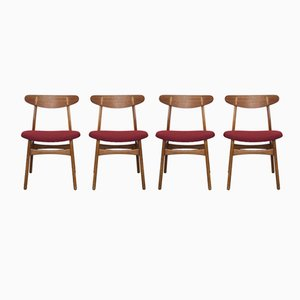 Vintage CH30 Chairs by Hans J. Wegner for Carl Hansen & Son, Set of 4