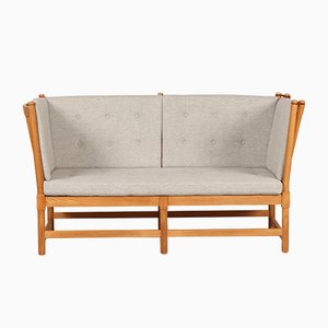 Model 1789 Spoke Back Sofa by Børge Mogensen for Fritz Hansen, 1970s