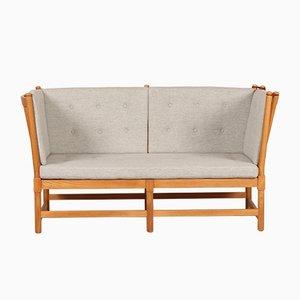 Modell 1789 Sofa mit Speichen-Rückenlehne von Børge Mogensen für Fritz Hansen, 1970er