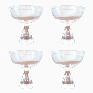 Verres à Liqueur Princess Vintage par Bent Severin pour Holmegaard, Set de 4