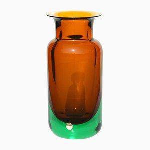 Murano Vase by Flavio Poli for Seguso, 1950s