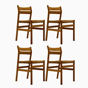 Vintage BM1 Chairs by Borge Mogensen for C.M. Madsen, Set of 4