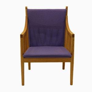 Vintage PP 105 Sessel aus Massiver Esche von Hans J. Wegner für PP Møbler
