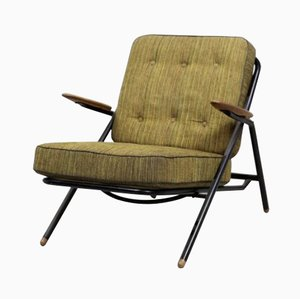 GE215 Sawbuck Chair by Hans Wegner for Getama, 1950s