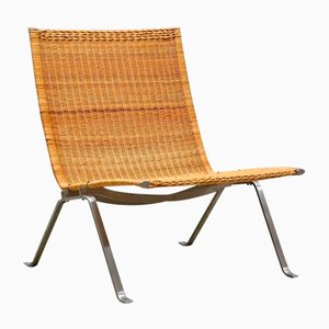 PK-22 Cane Chair by Poul Kjaerholm for E. Kold Christensen, 1950s