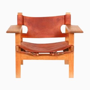 Spanish Chair by Børge Mogensen for Fredericia, 1960s