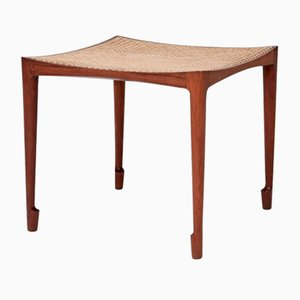 Rosewood Stool by Bernt Petersen, 1960s