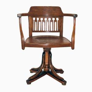 Chaise Pivotante Antique par Otto Wagner pour J.J. Kohn, 1905