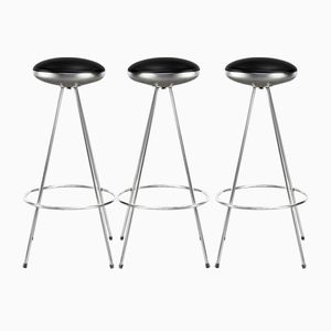 Vintage UFO Bar Stools from Sintesi, Set of 3