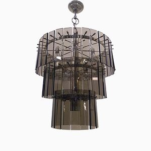 French Chandelier by Ico Parisi, 1970s