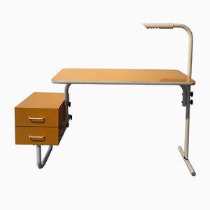 Bureau Jaune Vintage