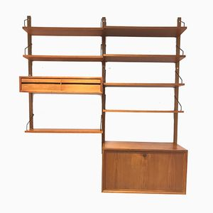 Mid-Century Wall Unit by Poul Cadovius for Royal, 1960s