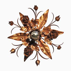 Floral Ceiling Light, 1970s