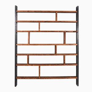 Sustern Zwart Recycled Lumber & Steel Shelf by Johanenlies, 2017