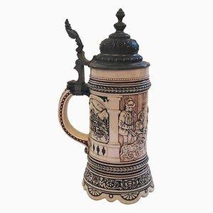 Boccale da birra, Germania, XIX secolo
