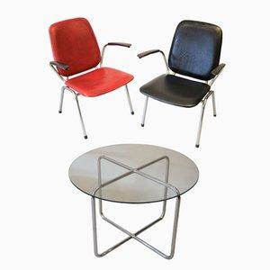 Stühle und Couchtisch von Gebroeders De Wit für Gispen, 1960er, 3er Set