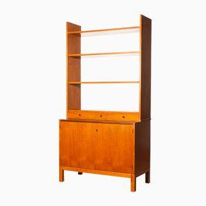 Teak Bookcase Secretaire, 1950s