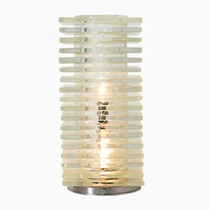Vintage Table Lamp in Glass from Poliarte