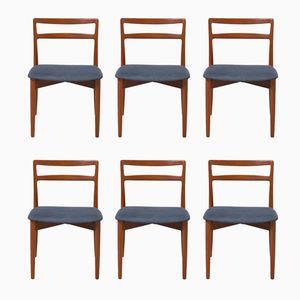 Chaises de Salon 61 Vintage par Harry Østergaard pour Randers Møbelfabrik