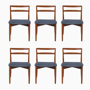 Vintage 61 Dining Chairs by Harry Østergaard for Randers Møbelfabrik