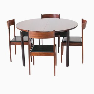 Dining Table & 4 Chairs in Rosewood from Stildomus, 1960s